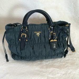 f4a20caaa575 ... get prada bags prada beautiful teal blue green bag 4f7b2 97bc4